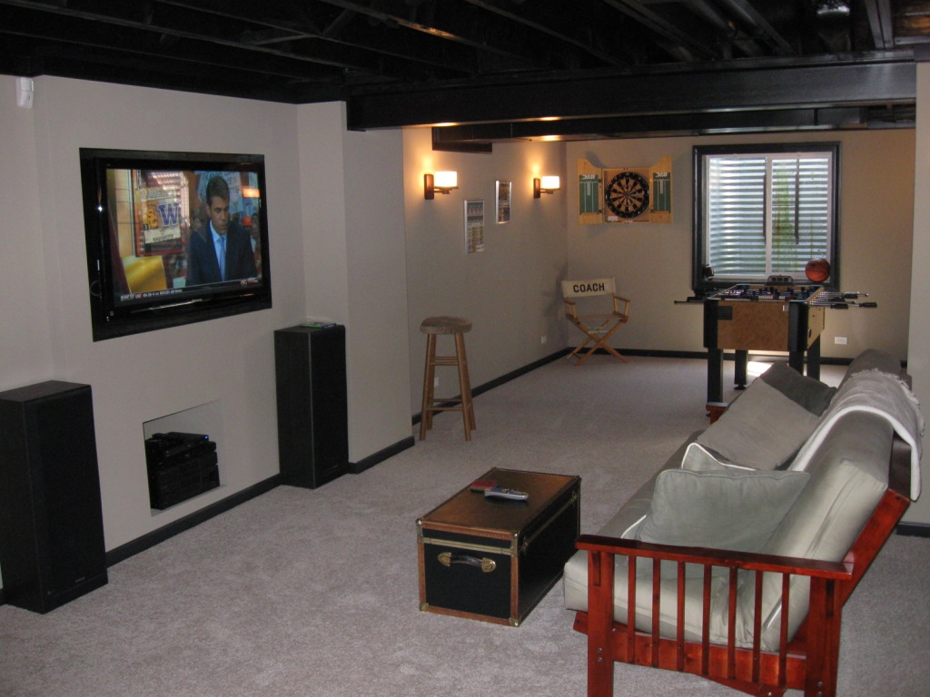 Basement Finishing As An Owner Builder Save Money On Your Basement Project A